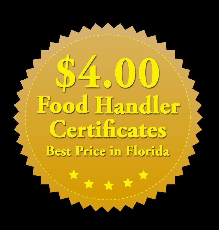 Florida Food Handler Certificates Florida Food Handler Certification
